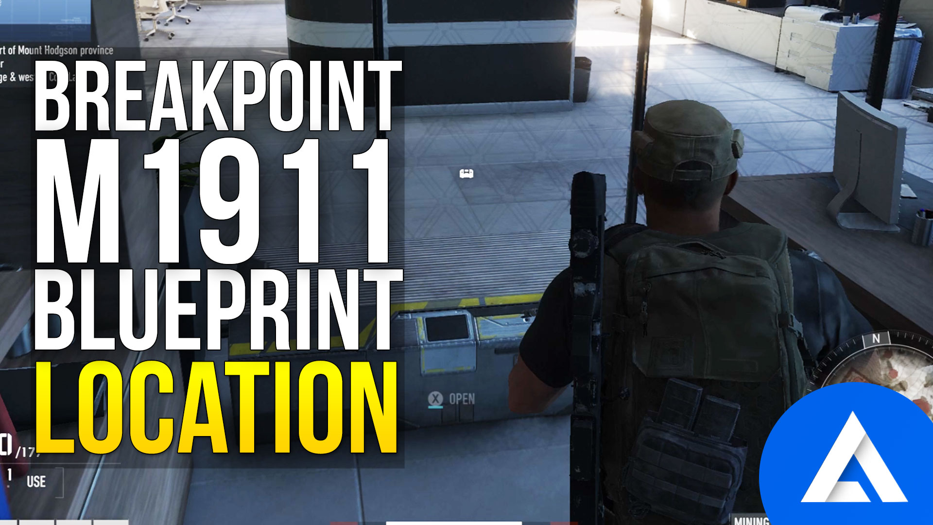 Ghost Recon Breakpoint M1911 Blueprint Location