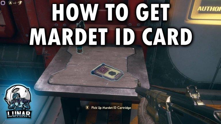 Hidden Mardet ID Cartridge Location In The Outer Worlds Mardet ID Cartridge