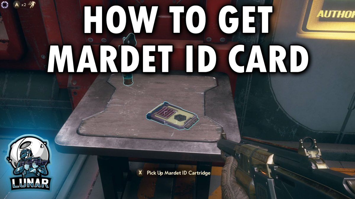 How To Get The Collectors Letter: The Illustrated Manual - The Outer Worlds Mardet ID Cartridge
