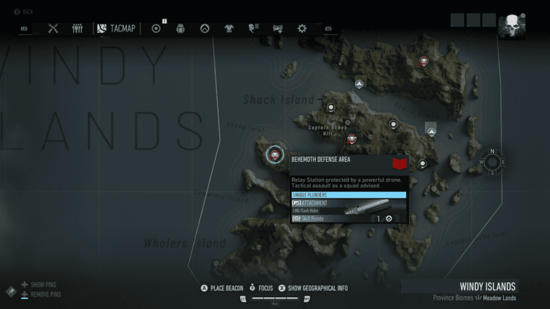 Ghost Recon Breakpoint All 70 Skill Point Locations My Great Capture Screenshot 2019 10 04 13 41 29