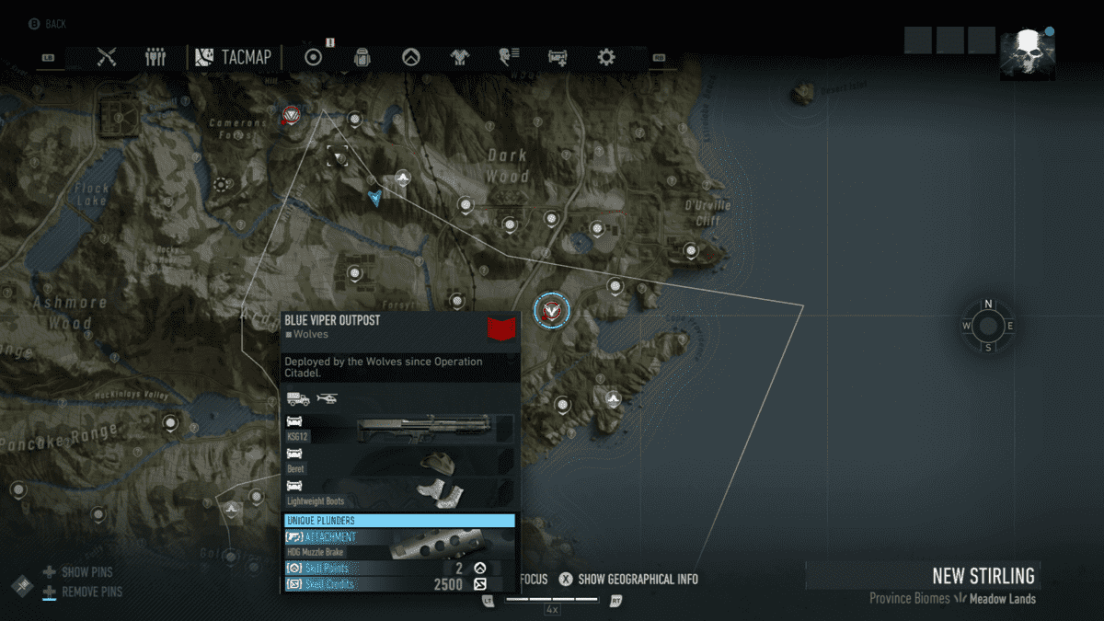 Ghost Recon Breakpoint All 70 Skill Point Locations My Great Capture Screenshot 2019 10 04 13 56 56