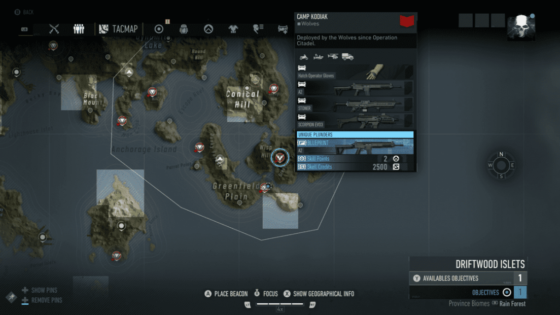 Ghost Recon Breakpoint All 70 Skill Point Locations My Great Capture Screenshot 2019 10 06 16 31 37