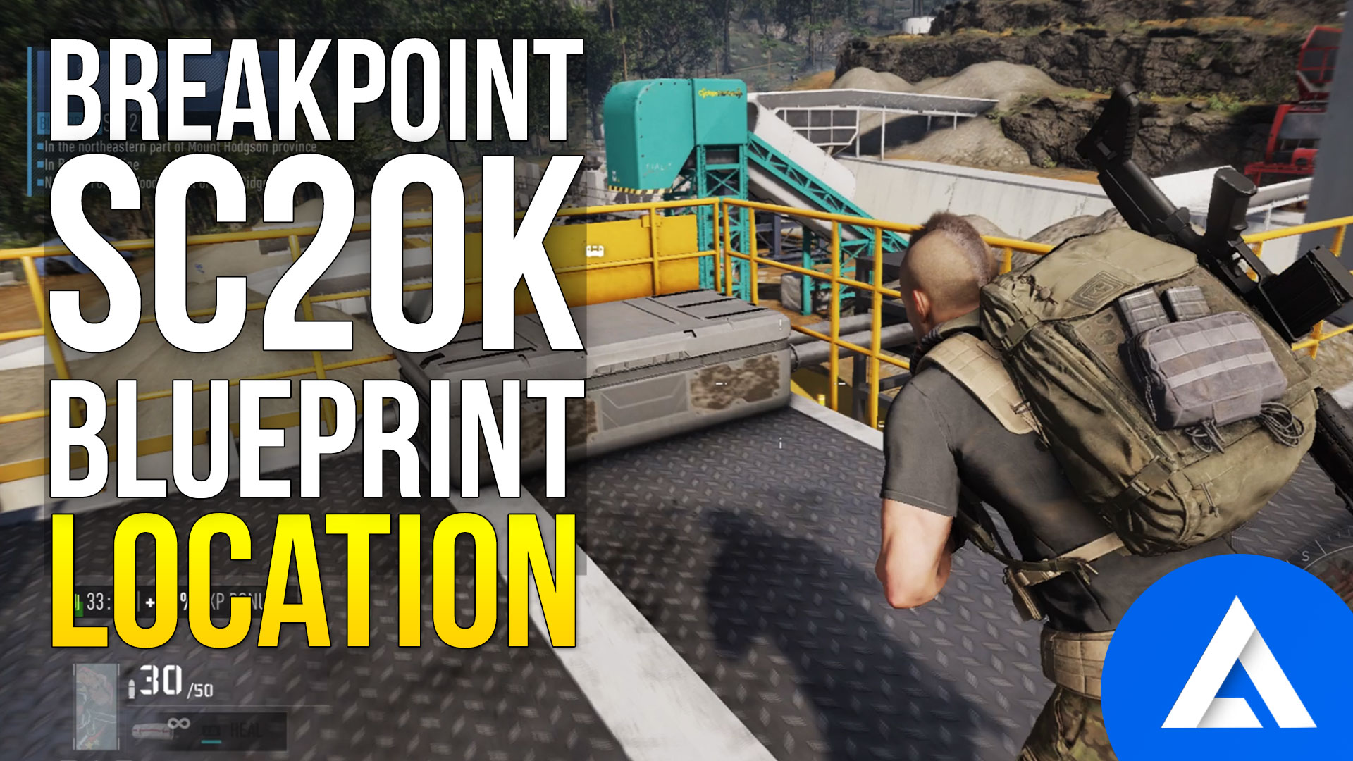 Ghost Recon Breakpoint SC-20K Blueprint Location