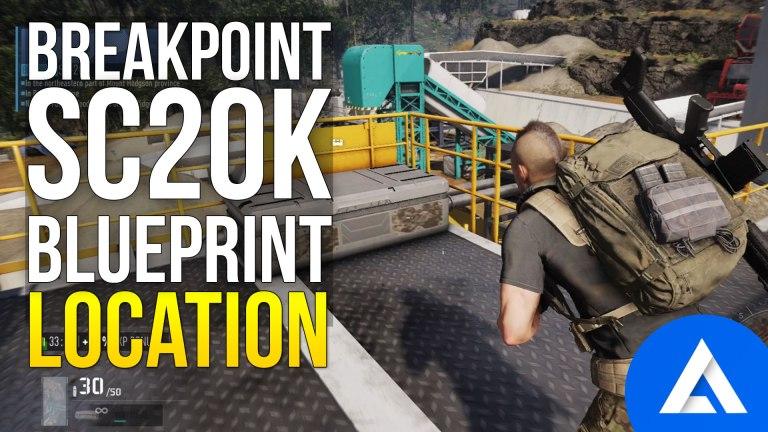 Ghost Recon Breakpoint SC-20K Blueprint Location