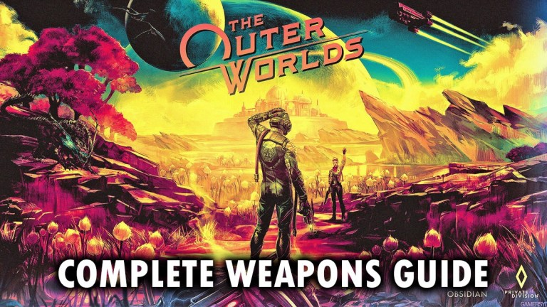 Outer Worlds Weapons