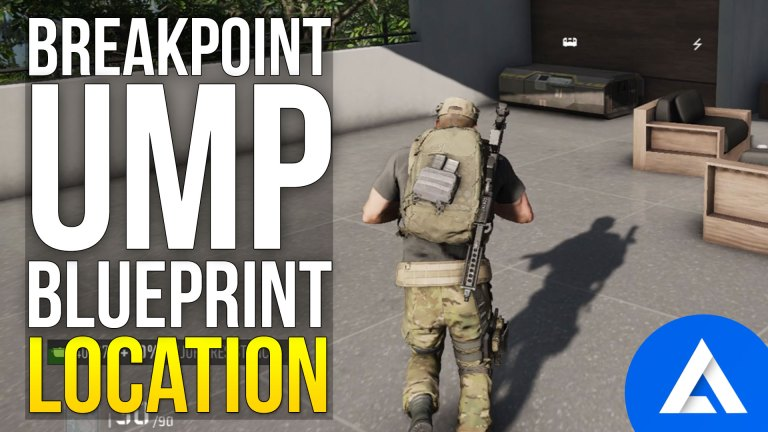 Ghost Recon Breakpoint UMP Blueprint Location