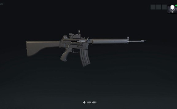 Ghost Recon Breakpoint AR18