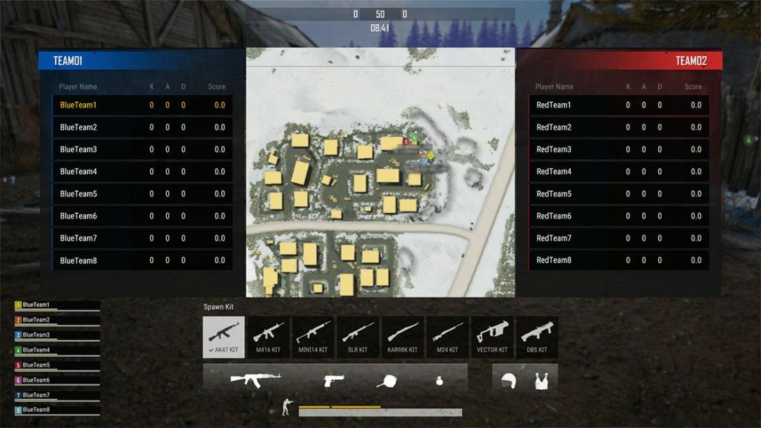 PUBG Team Deathmatch
