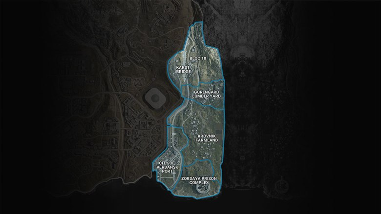 Warzone Map Sector 5