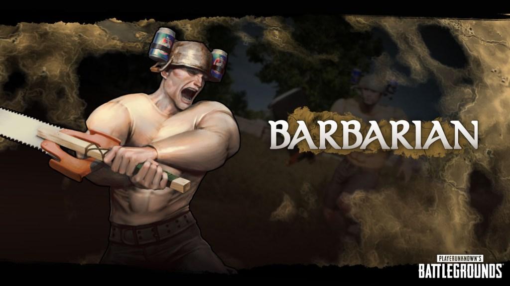 Barbarian Class