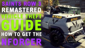 Saints Row The Third Remastered How To Get the N-Forcer