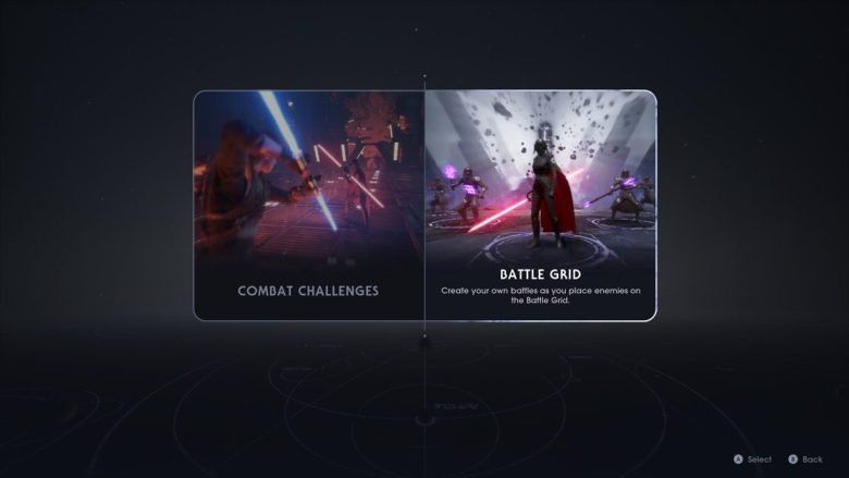 Jedi fallen Order Meditation Training