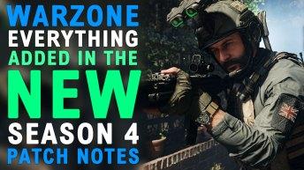 Modern Warfare Warzone Updates Season 4 Patch Notes