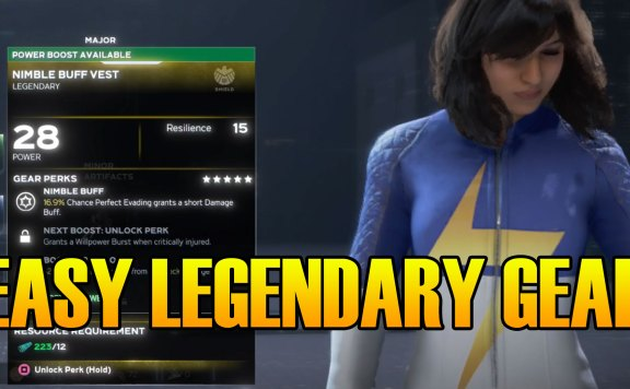 Marvel's Avengers How To Get Easy Legendary Gear