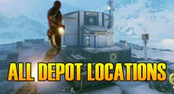 Marvel's Avengers How To Find and Open All 4 Depots Snowy Tundra Vault