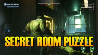 Marvel's Avengers Secret Room Puzzle Solution Condition Green