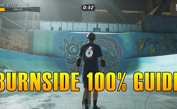 Tony Hawk's Pro Skater 1 + 2 Burnside Guide