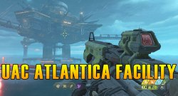 Doom Eternal UAC Atlantica Facility Collectibles & Secrets