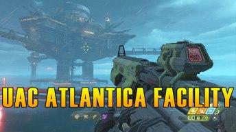 Doom Eternal UAC Atlantica Facility Collectibles & Secrets