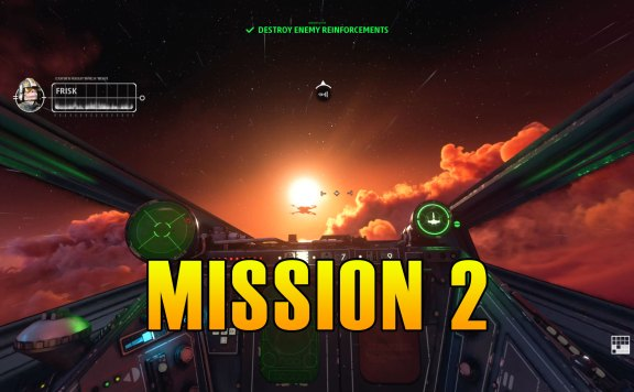 Star Wars Squadrons Mission 2 Walkthrough & Medals