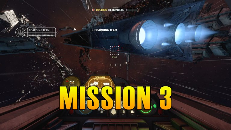 Read more about the article Star Wars Squadrons Mission 3 Walkthrough & Medals