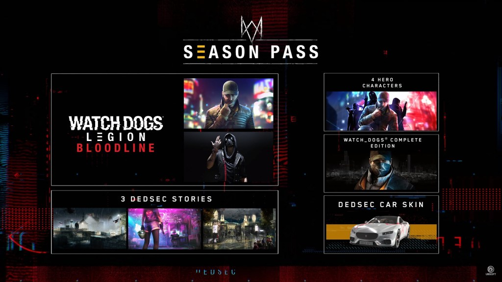 watch dogs legion season pass