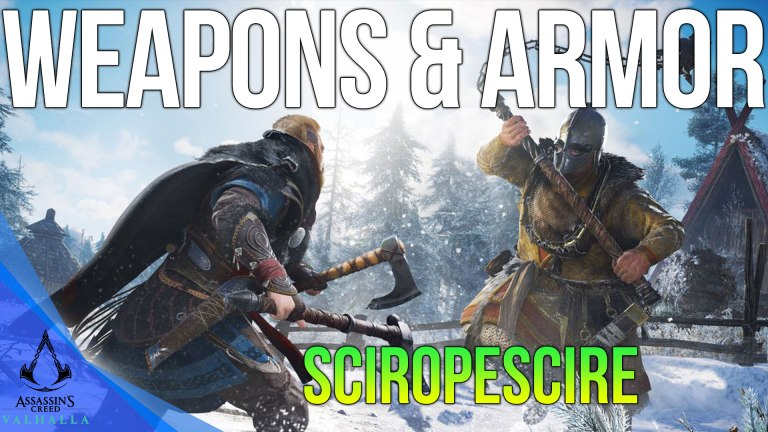 Read more about the article All Sciropescire Weapons & Armor Locations Assassins Creed Valhalla