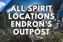 All spirit locations Nevada Desert Endron's Outpost