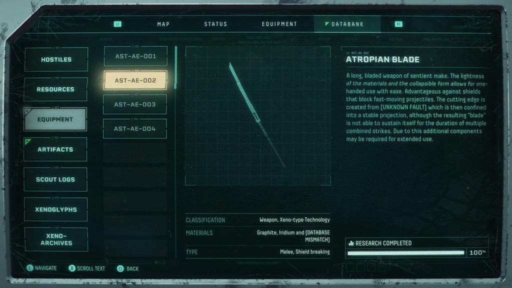 Returnal Weapons: All Returnal Weapons Returnal Weapons AtropianBlade