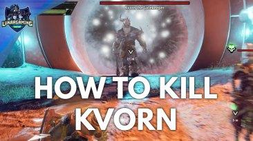 Kvorn the Gatekeeper Boss Fight Dungeons & Dragons Dark Alliance