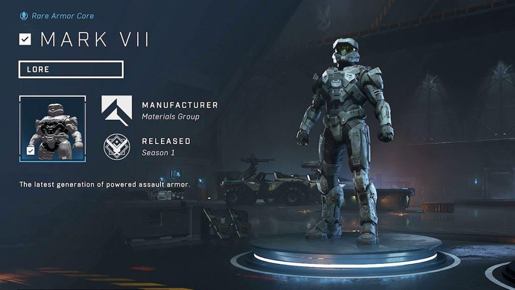 Mark VII Armor