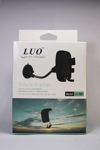 Soporte de celular para auto LUO LU-308