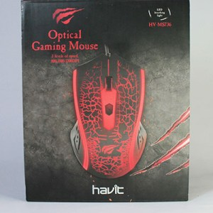 Mouse Gamer Havit de 7 colores de luces HV-MS736