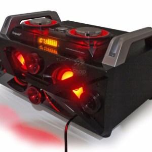 Parlante Ecopower con luces dj karaoke EP-3801