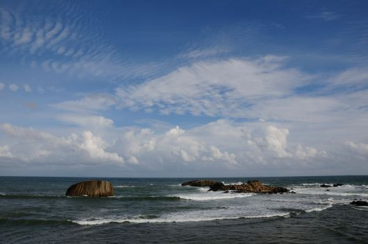 The ocean from Galle Fort