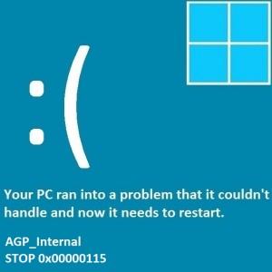 Как исправить ошибку AGP_Internal Blue Screen