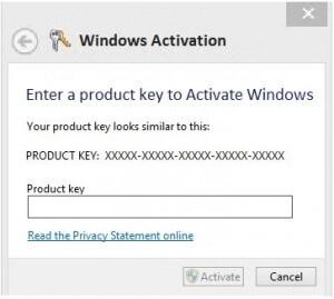 Не удается активировать Windows 8 Enterprise 64x
