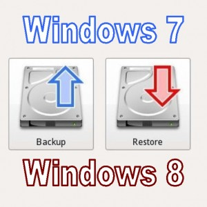 Как извлечь файлы из средства резервного копирования Windows 7 в Windows 8.1