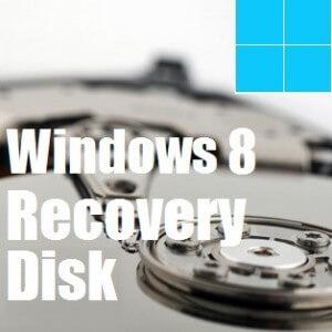 Как использовать диск восстановления Windows 8
