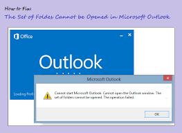 Не удается открыть набор папок Outlook 2016 – исправить ошибку Outlook