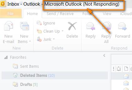 Почему Microsoft Outlook зависает – ваш злейший враг?