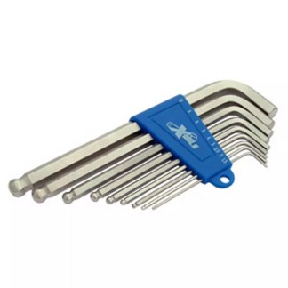 Allen Key x 9 Ball End Set