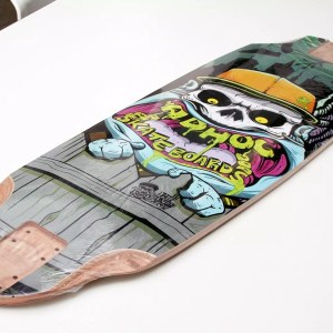 Adhoc Freeride 36″ Longboard Deck