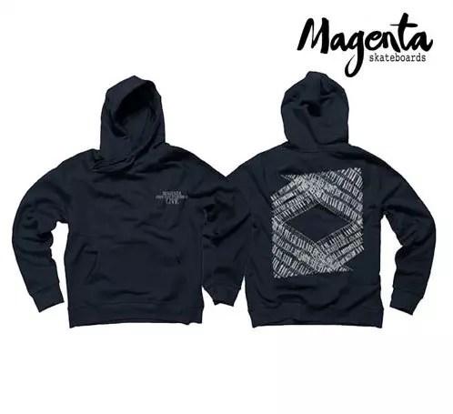 MAGENTA Free Jazz Hoodie Navy