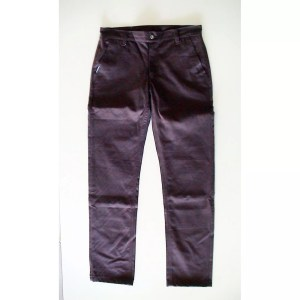 Popcorn Chino Pants - Burgundy