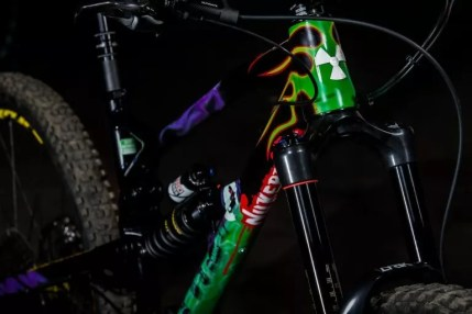 Introducing Sam Hill's custom Nukeproof Mega.