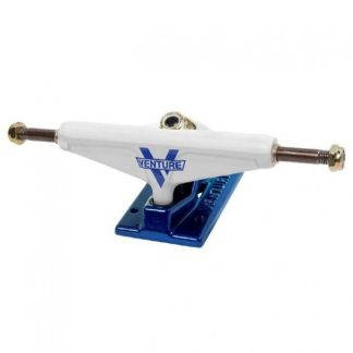 Venture Trucks Union LOW 5.25″ White/Blue (Set of 2)