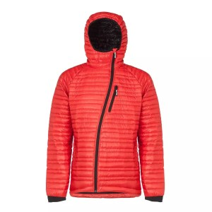 Faction GALILEO MEN'S DOWN MID-LAYER 800-fill 90/10 goose Rosso Red