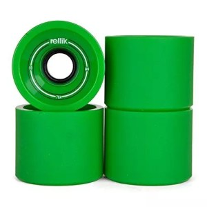 Rellik Longboard Wheels 69mm 78A Green