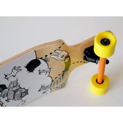 Adhoc Downhill 39″ Longboard Complete